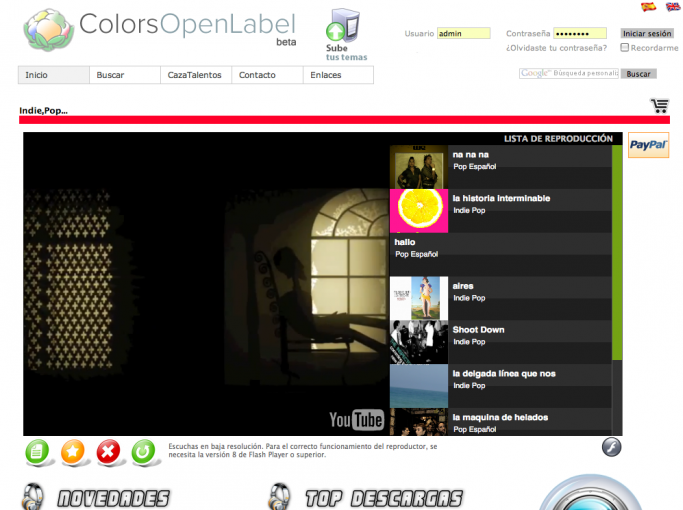 ColorsOpenLabel
