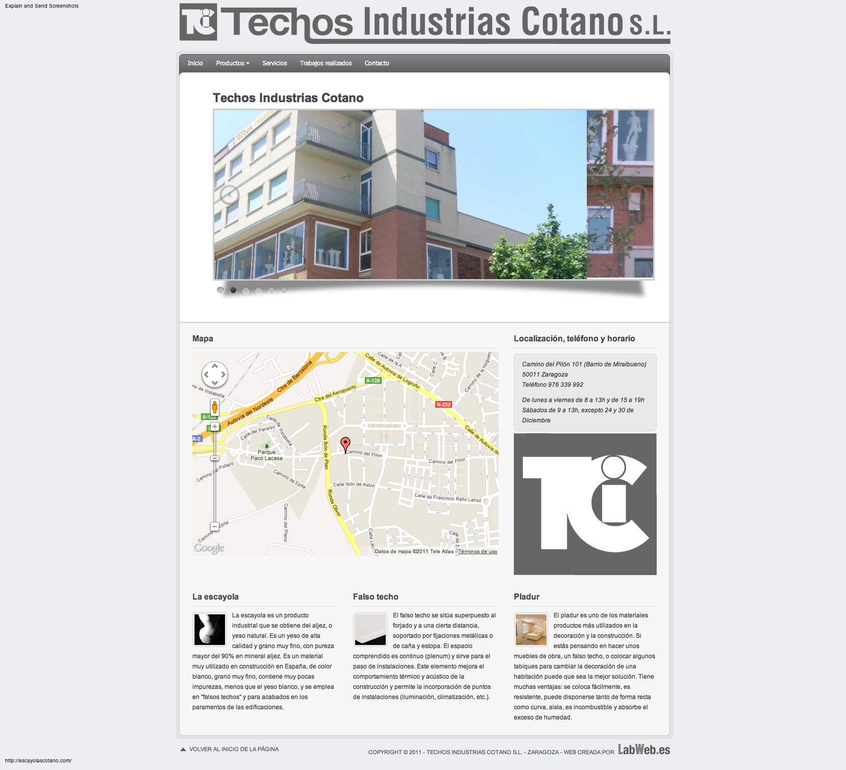 Techos Industrias Cotano